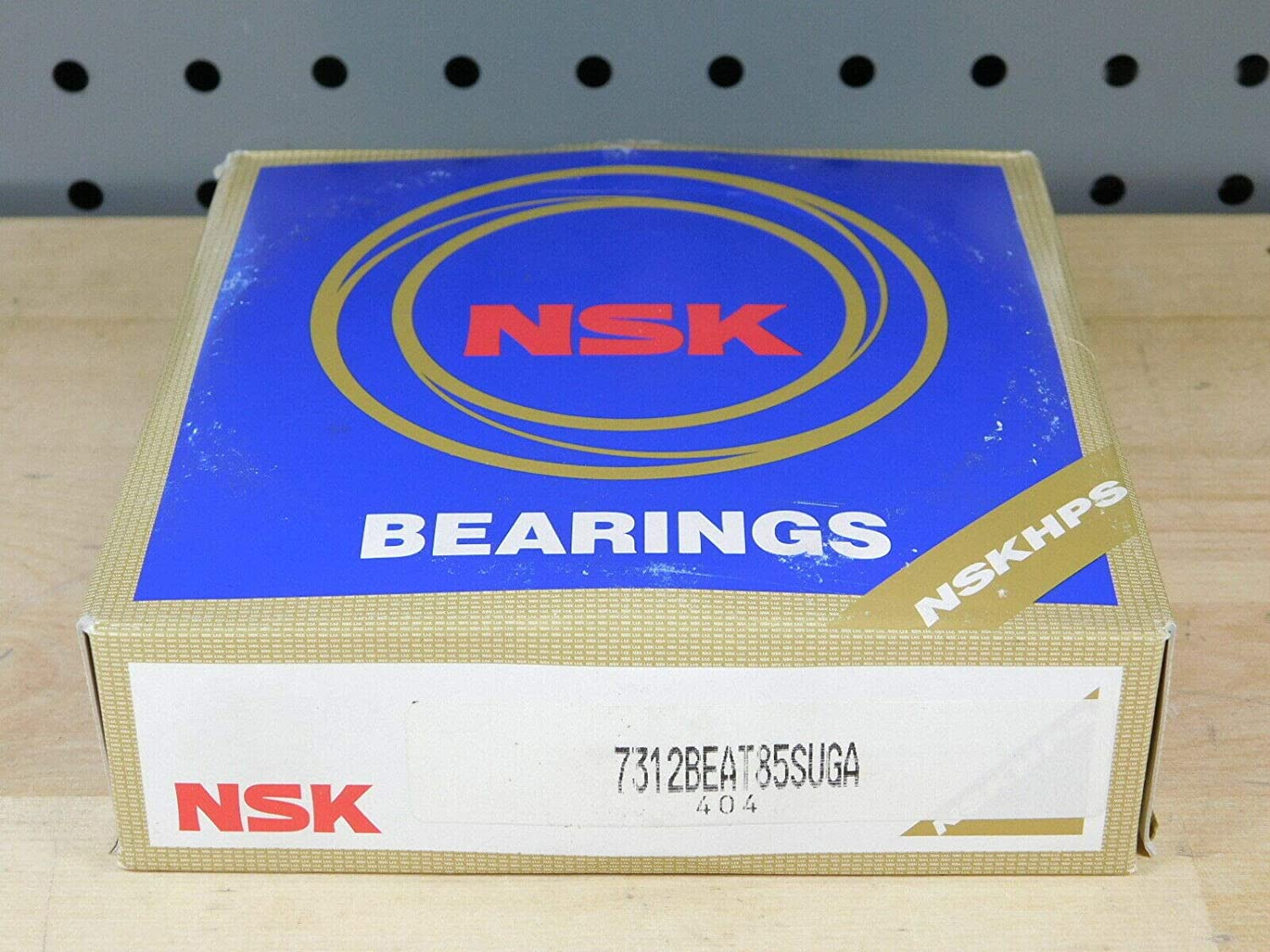 Sealed 60mm ANG Contact NSK 7312BEAT85SUGA Ball Bearing
