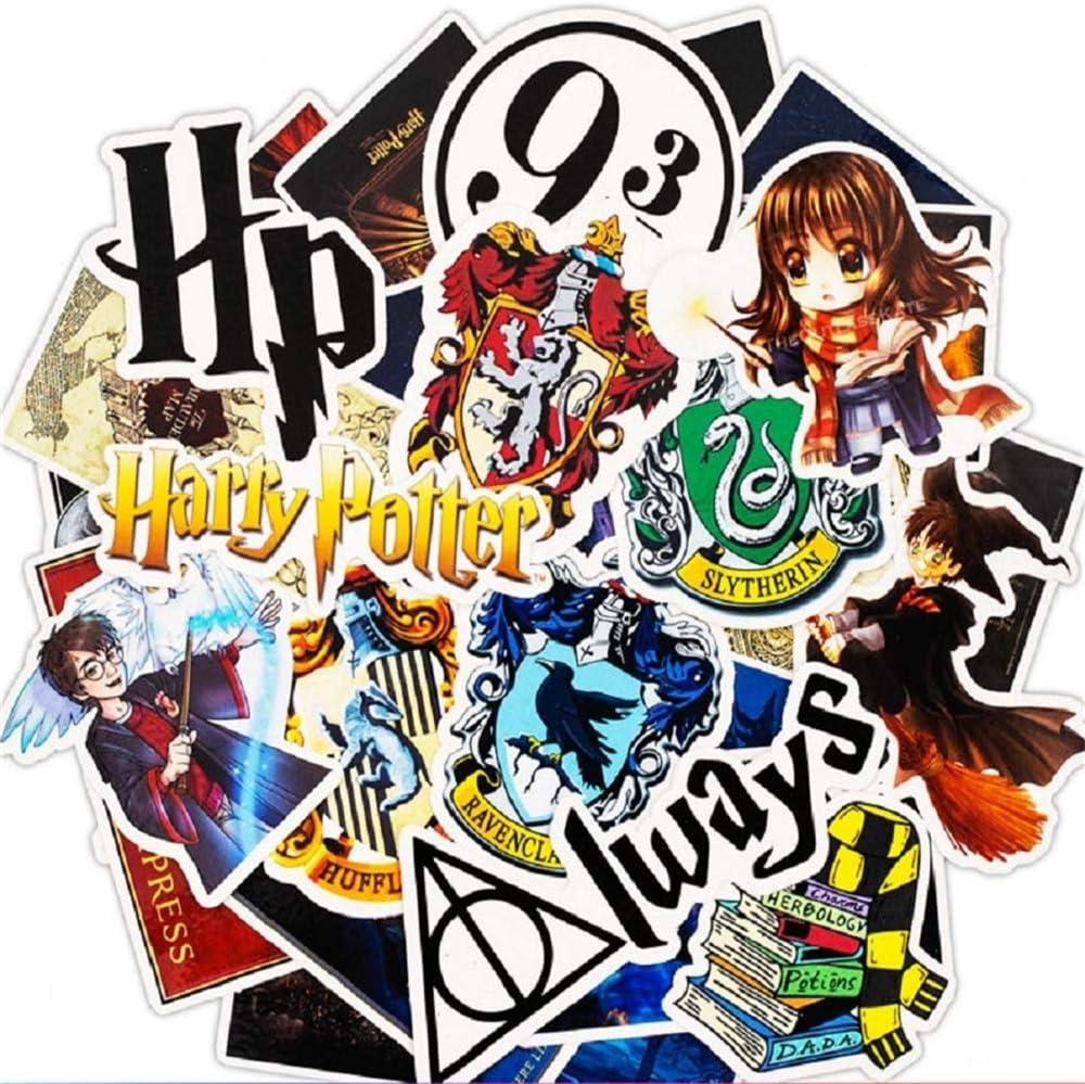 SetProducts Top Pegatinas! Juego de 30 Pegatinas de Harry Potter Vinilos - No Vulgares - Fashion, Estilo, Bomba - Personalización Portátil, Equipaje, Motocicleta, Bicicleta, Moto.