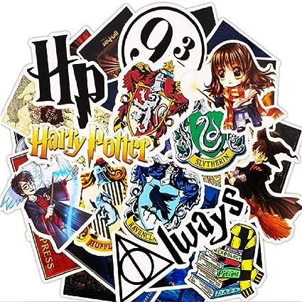 Potter Sanmatic 50 Pcs Pack Dautocollants Harry Potter