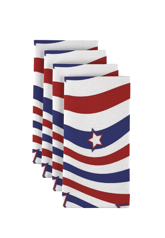 生地テキスタイル製品American Stars & Stripesナプキン18