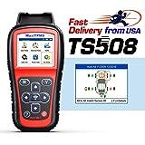Autel TPMS Relearn Tool MaxiTPMS TS508, Program MX-Sensors(315/433MHz), Activate/Relearn All Brand Sensors, Read/Clear…