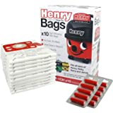 Pack Of 20 NVM-1CH Vacuum Cleaner Paper Dust Bags