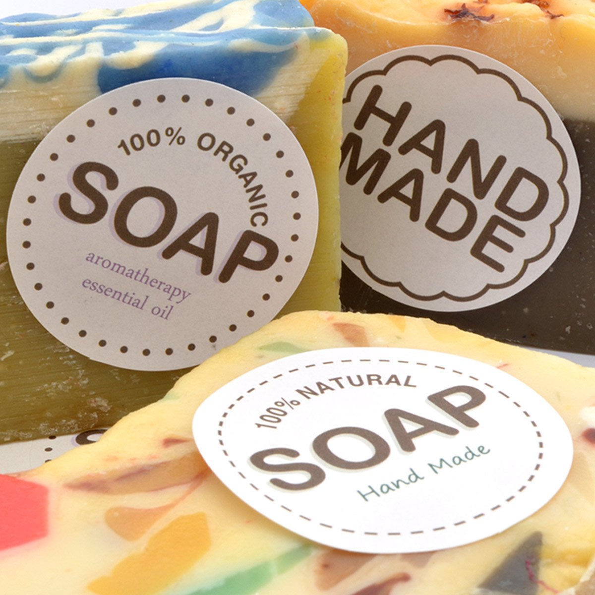 handmade soap label