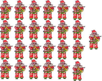 Divertido De Navidad Broche Pin insignias Santa Muñeco de Nieve Joyería Ropa de dibujos animados Art Decor