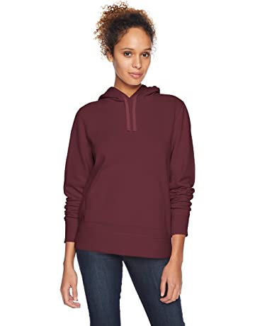 4577a68f9fbe Amazon Essentials Women s French Terry Fleece Pullover Hoodie