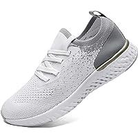 SANNAX Zapatos Mujer Zapatillas Casuales Zapatos Planos Correr Gimnasio Sneakers Zapatillas Deportivas Transpirables…