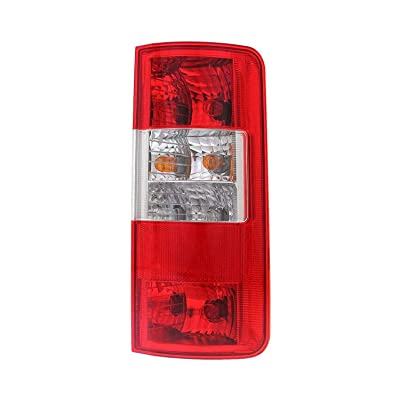 Right Passenger Side Tail Light Assembly for 2010 2011 2012 2013 Ford Transit Connect - Parts Link # FO2801225 OE # 9T1Z 13404 A - Includes the Bulb: Automotive