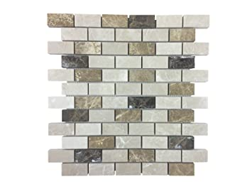 azulejos de mosaico de piedra de mrmol pulido como baldosas de pared