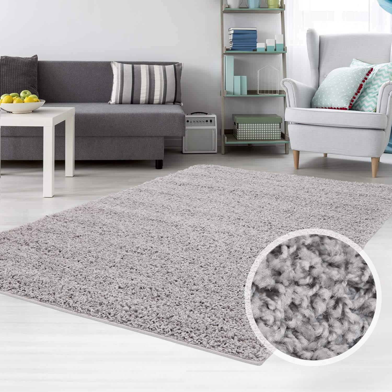 Carpet city Teppich Shaggy Hochflor Langflor Flokati Einfarbig Uni Uni Uni aus Polypropylen in Dunkelgrau für Wohn-Schlafzimmer, Größe  300x400 cm B01HF6V780 Teppiche d5d1bd