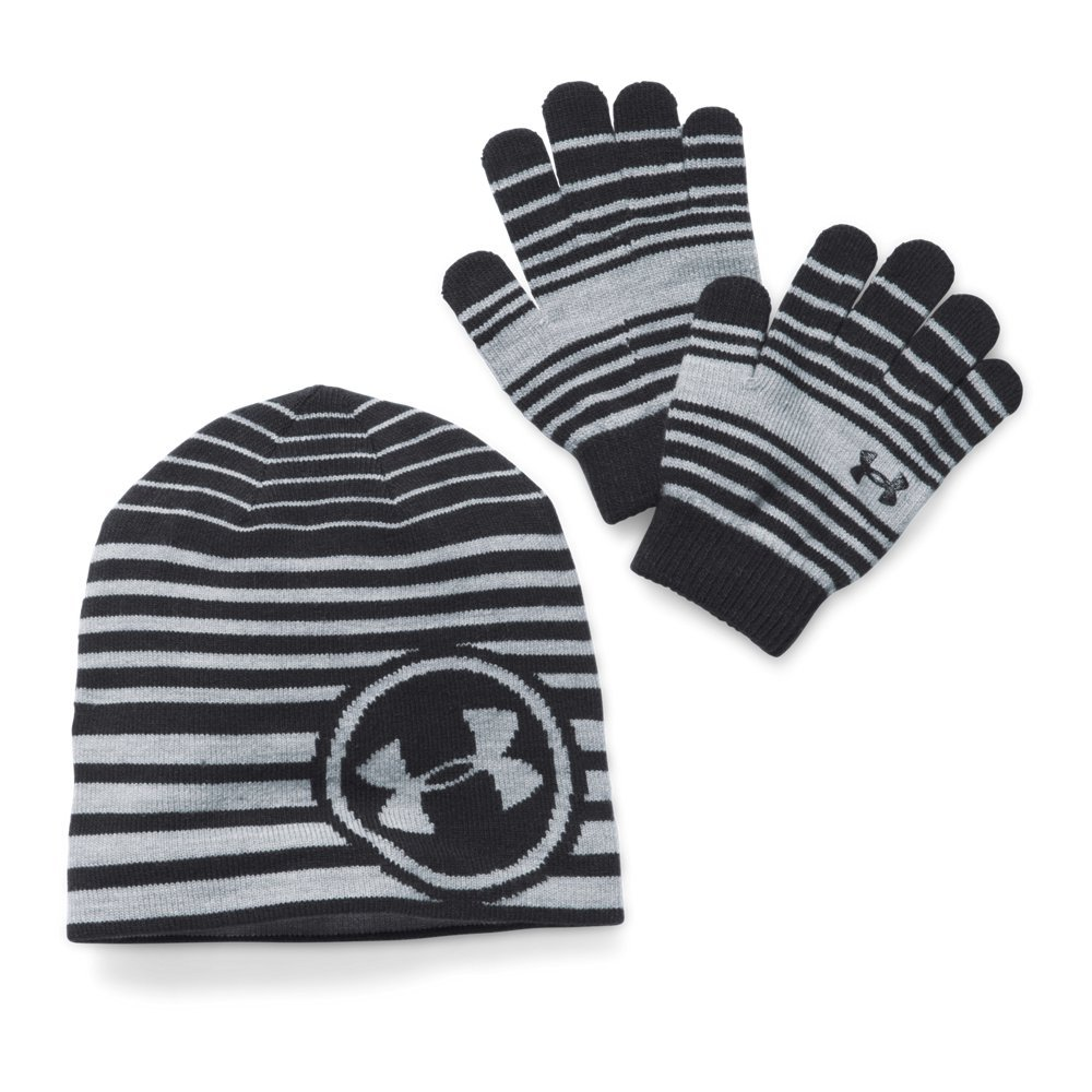 Under Armour Youth Reversible Beanie and Glove Combo Pack 1280460