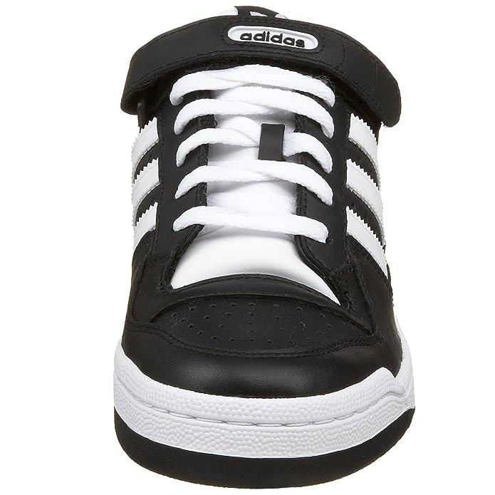 adidas originali uomini 'forum lo scarpa, nero / bianco