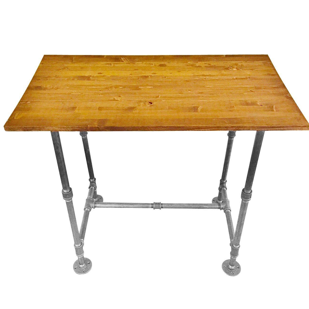 Industrial Vintage Style Steel Pipe Desk