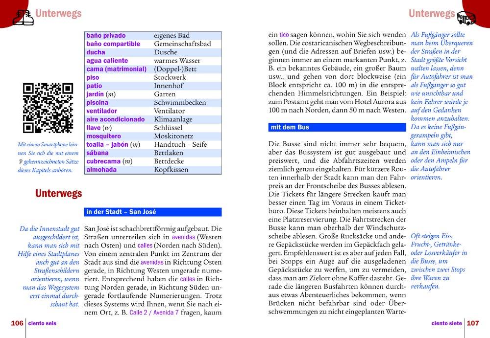Reise Know-How Kauderwelsch Spanisch für Costa Rica - Wort für Wort Wort für Wort: 9783831764303: Amazon.com: Books