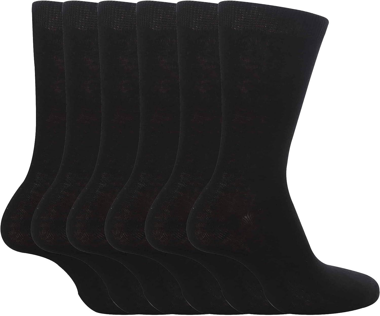 4 Colours 6 Pairs Girls /& Boys School Socks 3 Sizes