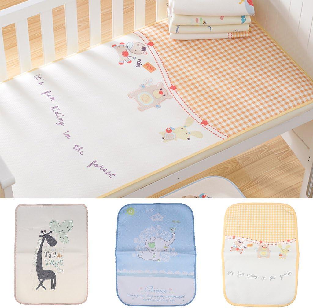 Sharplace Baby Wasserdichte Wickelauflage Wickelunterlage Wickeltischauflage Babybett Matte Soft Wickelmulde 30x45cm Giraffe