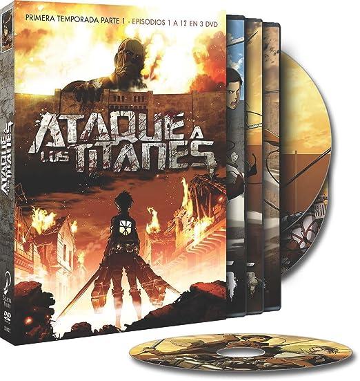 Ataque A Los Titanes (Serie Completa) [DVD]: Amazon.es: Animación, Tetsurô Araki, Animación: Cine y Series TV