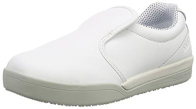 Unisex Adults San-Chef Slipper-s2 Loafers, White (White) Sanita