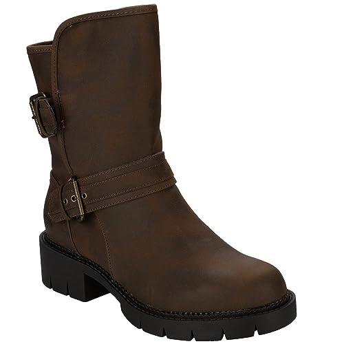 Zapatos marrones casual Rocket Dog para mujer OPl8sRz