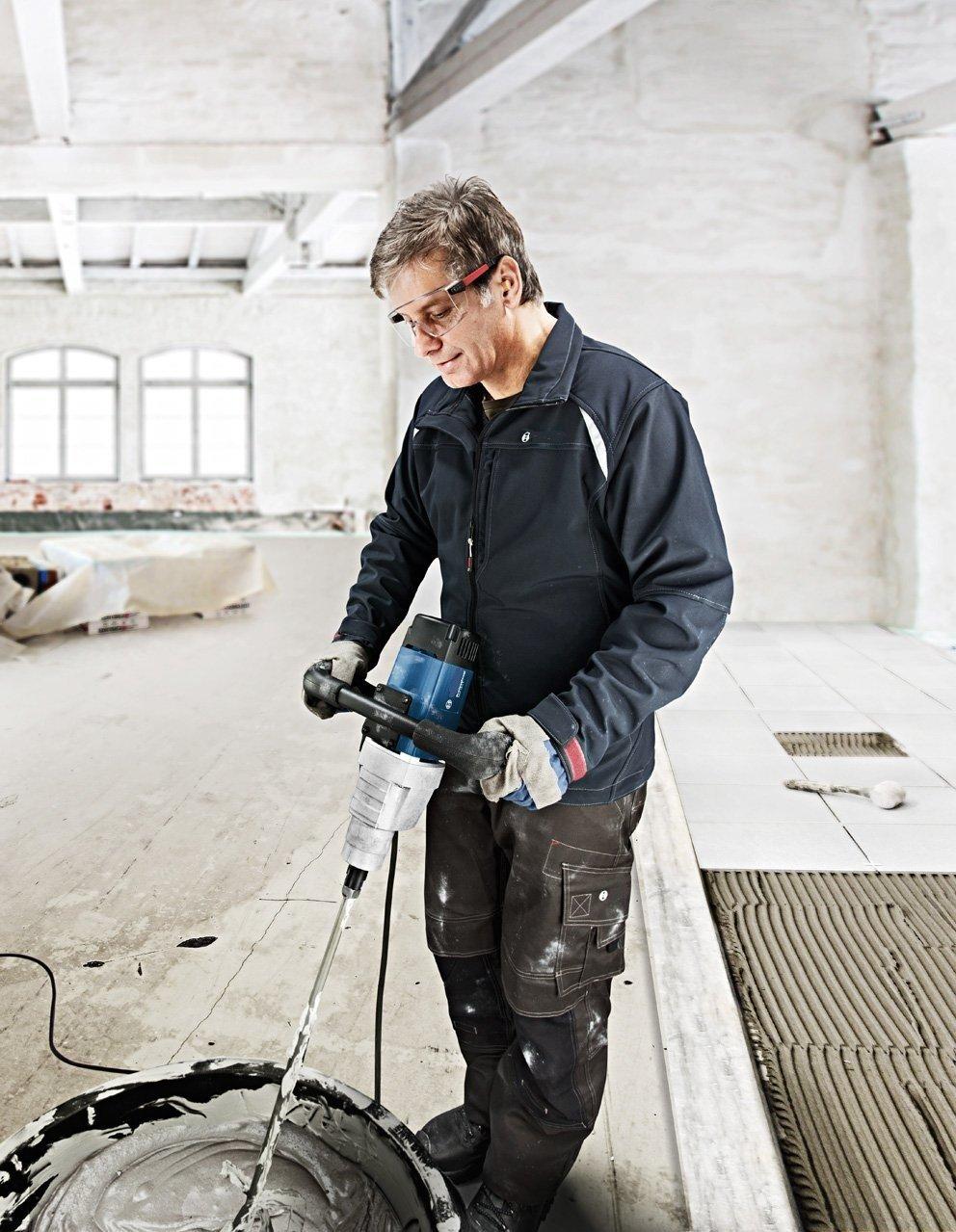 batidor mezclador de pala cemento pala para yeso multi mezclador de alta resistencia 120 mm x 600 mm M 14 rosca hormig/ón pintura Mezclador profesional