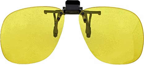 0d7feb24405 Medipaq® Pair of Flip Up Clip On Night Driving Lenses - Fit On Any Pair