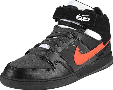 uvas Sudamerica bendición  Nike 6.0 AIR Mogan MID 2 Mens Shoes, Black Total Orange Dark Grey, US 8, EU  41, UK 7: Amazon.co.uk: Shoes & Bags