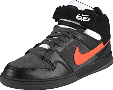 3827ff8f7f Nike 6.0 AIR MOGAN MID 2 Mens Shoes, black total orange dark grey, US