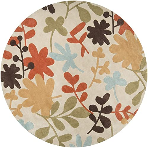 Cosmopolitan 8-Feet by 11-Feet 100-Percent Polyester Hand Tufted Area Rug