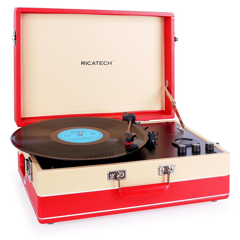 Ricatech RTT95 Tocadiscos USB AM/FM: Amazon.es: Electrónica