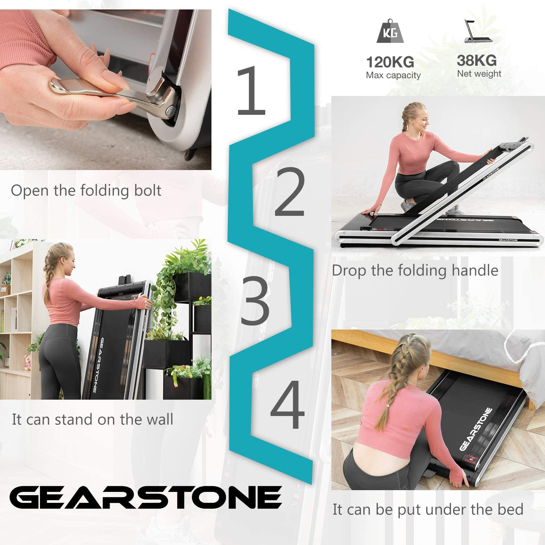 gearstone 2 in 1 treadmill