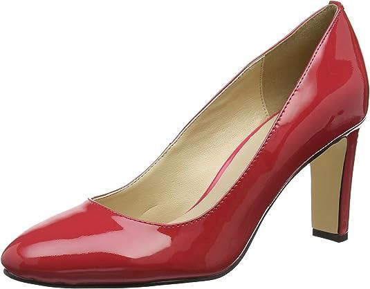 TALLA 38 EU. Buffalo Ls80437-9c Patent, Zapatos de Tacón para Mujer