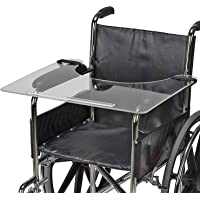 DMI Clear Acrylic Wheelchair Tray