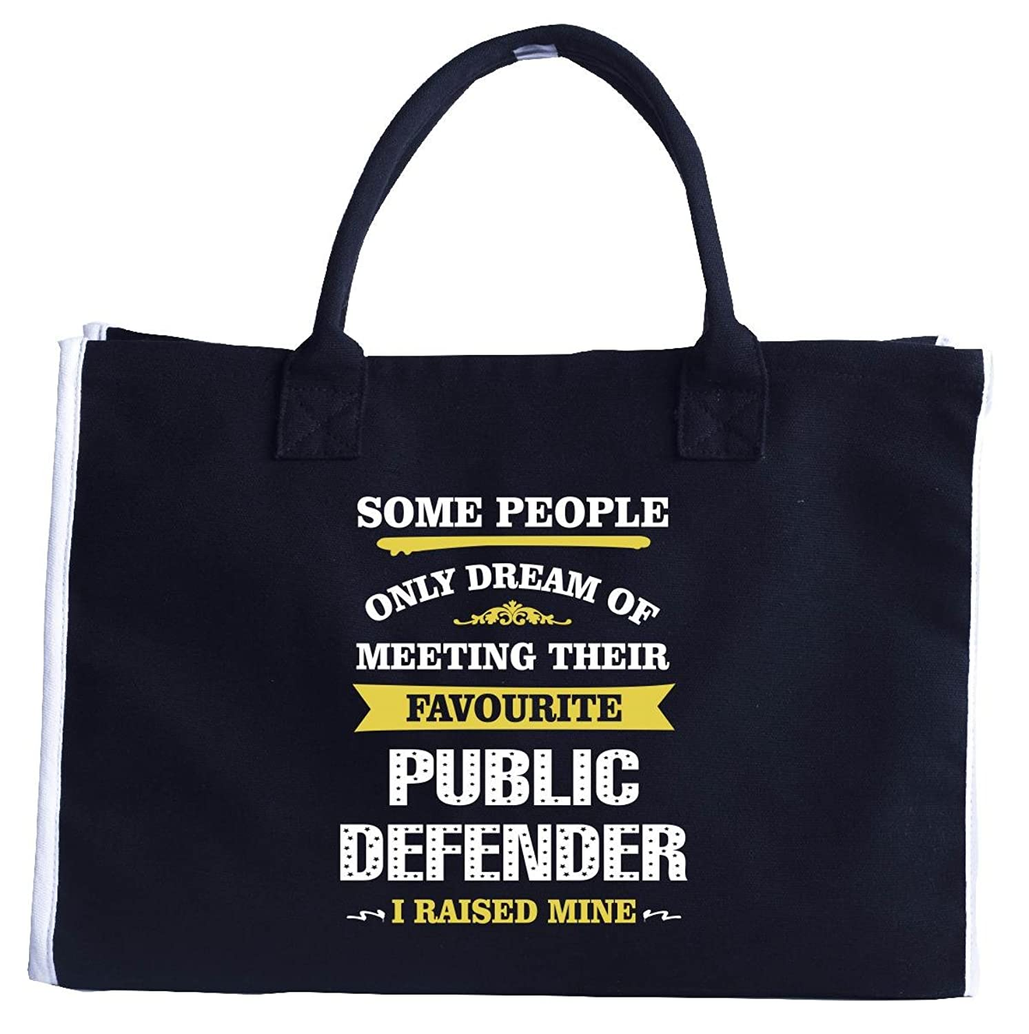 I Raised My Public Defender. Mother's Day Gift - Fashion Customized Tote Bag