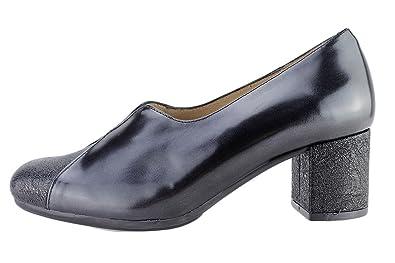 Komfort Damenlederschuh PieSanto 175303 Pumps bequem breit