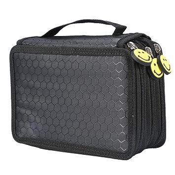 Amazon.com: Bolsas de cosméticos de 4 capas, 55 agujeros de ...