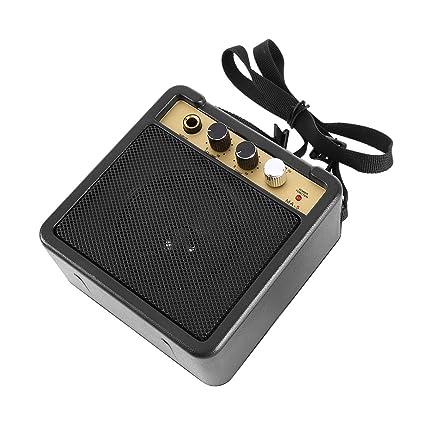 JullyeleESgant E-Wave Mini Amplificador de Guitarra Amplificador de Guitarra con Clip Posterior Accesorios de