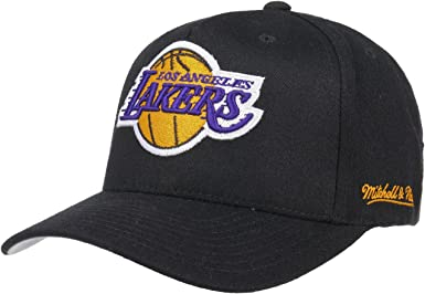 Gorra Eazy L.A. Lakers de Mitchell & Ness - Negro - Ajustable ...