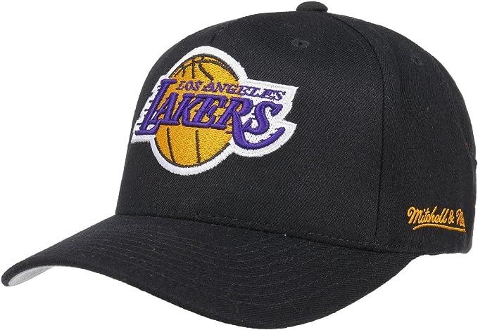 Mitchell And Ness Cappello Lakers Nero Regolabile
