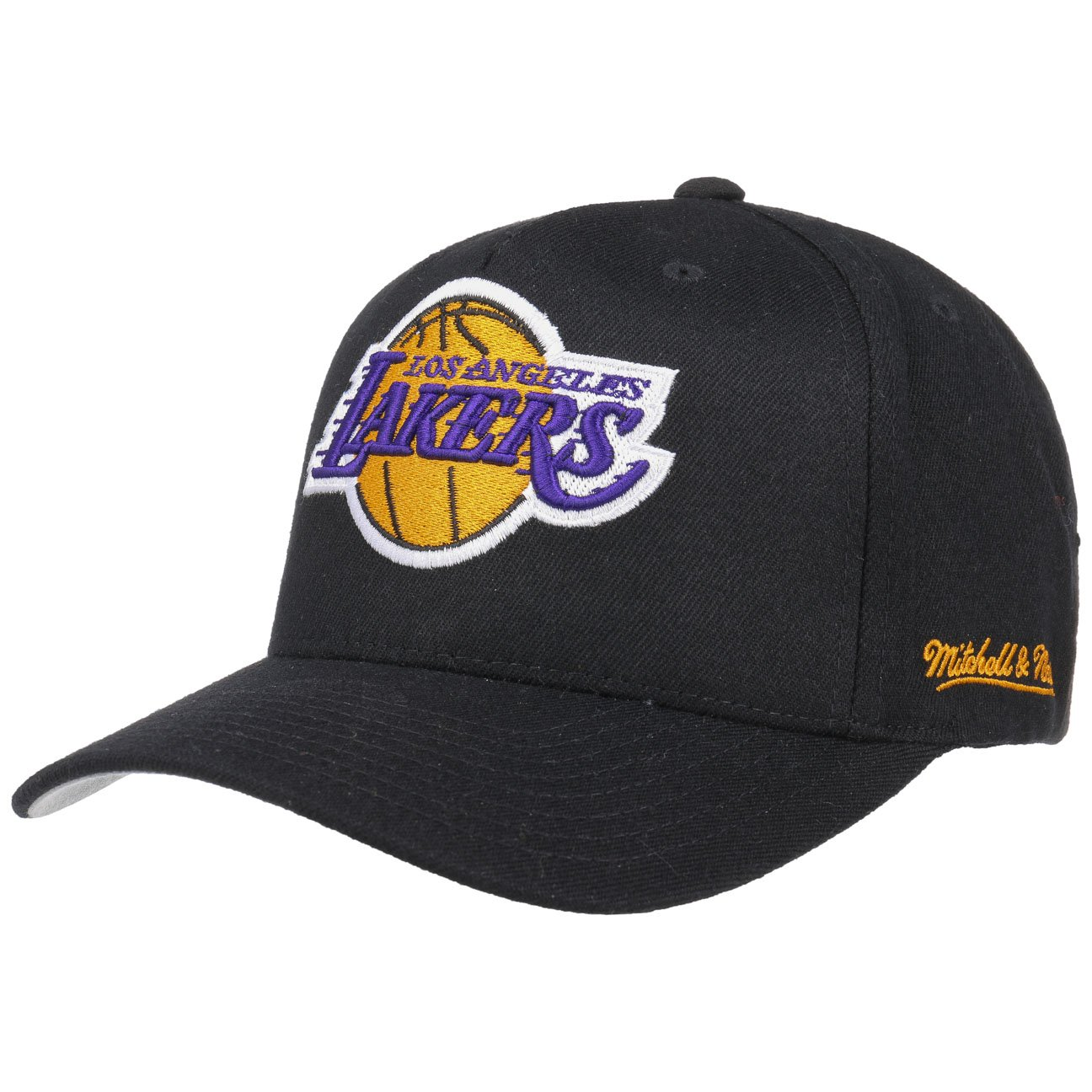 Mitchell   Ness L.A. Lakers Snapback Cap - Eazy - Black Adjustable ... e9dc768ee68