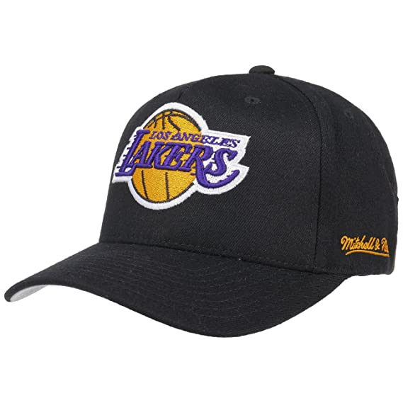 Mitchell   Ness L.A. Lakers Snapback Cap - Eazy - Black Adjustable ... 5f1290586ae7