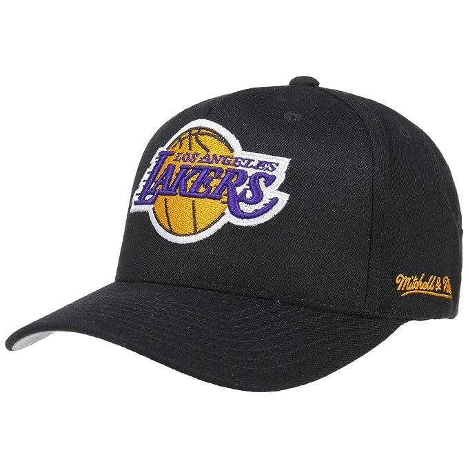 Gorra Eazy L.A. Lakers de Mitchell   Ness - Negro - Ajustable ... b8d7efb0dfd