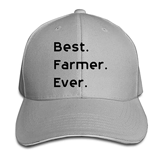 aaaf08d7006f9f Image Unavailable. Image not available for. Color: 2018 Mats Best Farmer  Ever Best Sunscreen Sandwich ...