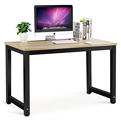 Amazoncom Tribesigns Modern Simple Style Computer Desk PC Laptop