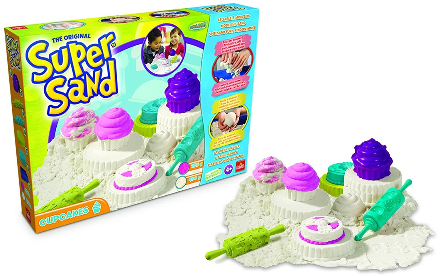 Goliath Super-Sand-Set Cupcakes