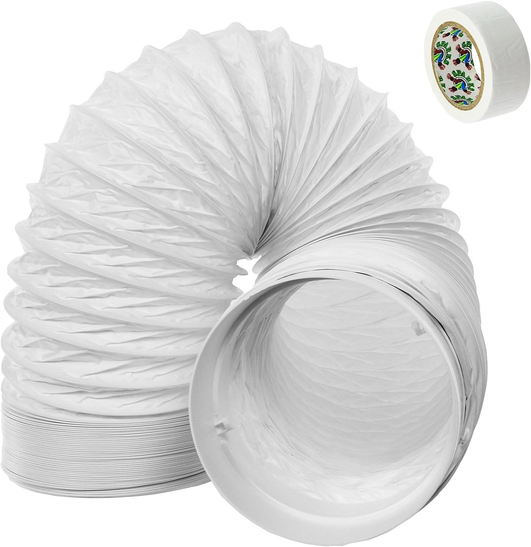 SPARES2GO Manguera Tubo PVC Duct Extensión Equipo para Delonghi ...