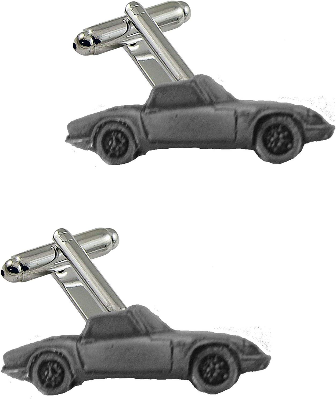 Clásico coche británico Elan Sprint (Open Roadster) ref120 Gemelos efecto peltre coche clásico