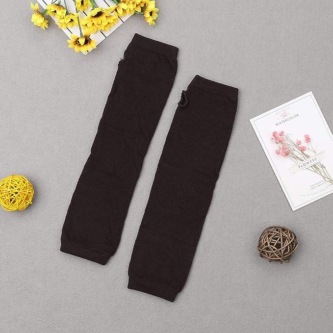 NUNOFOG Vintage Red Plaid Unisex Summer Arm Cover Sleeves Long Fingerless Sun-proof Anti-UV Long Gloves For Outdoor