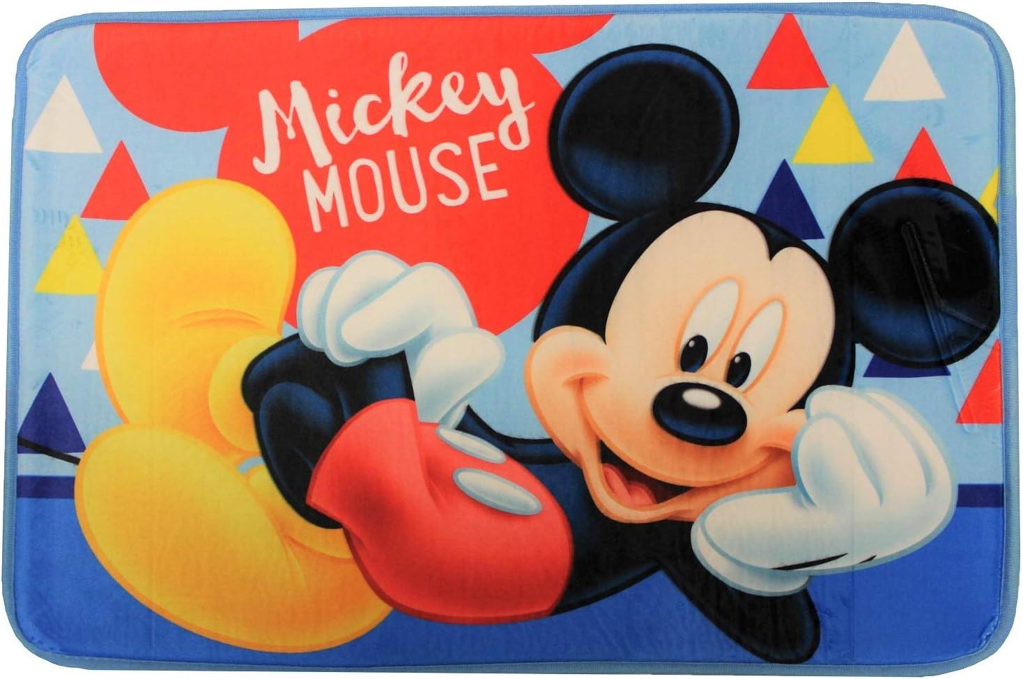 Badeteppich 40 x 60 cm f/ür Kinder Cars Mickey Mouse Frozen Mickey Maus Spider-Man Unbekannt Badematte Verschiedene Motive aus Film und Fernsehen Minnie Maus Ariel die Meerjungfrau