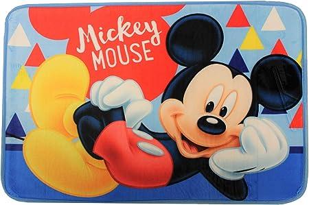 Alfombra de ba/ño 40 x 60 cm para ni/ños Alfombra de ba/ño Varios Temas de Cine y televisi/ón Frozen Spider-Man Mickey Mouse Cars Minnie Mouse Coches Ariel The Mermaid