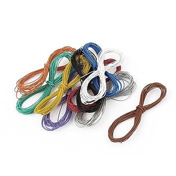 Sourcingmap - ® P/N B-30 - 1000, estañado estaño y plomo alambre de conexión de soldadura Soldadura 10Pcs: Amazon.es: Bricolaje y herramientas
