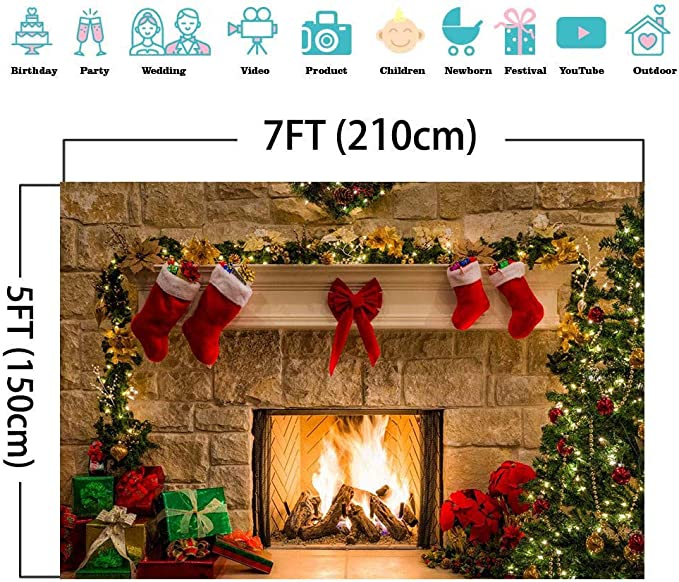 10x15 FT Backdrop Photographers,Festive Christmas Frame with Spices Biscuits Elements on Table Art Print Background for Baby Shower Birthday Wedding Bridal Shower Party Decoration Photo Studio